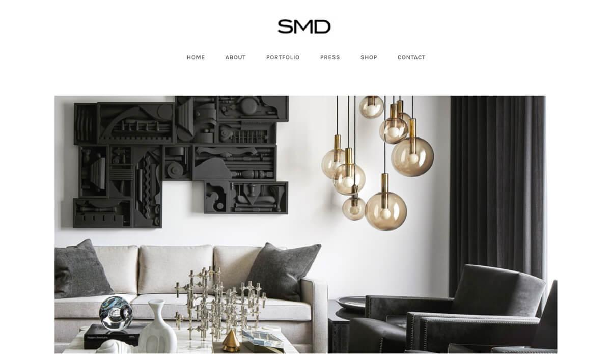 Interior Design Website Examples