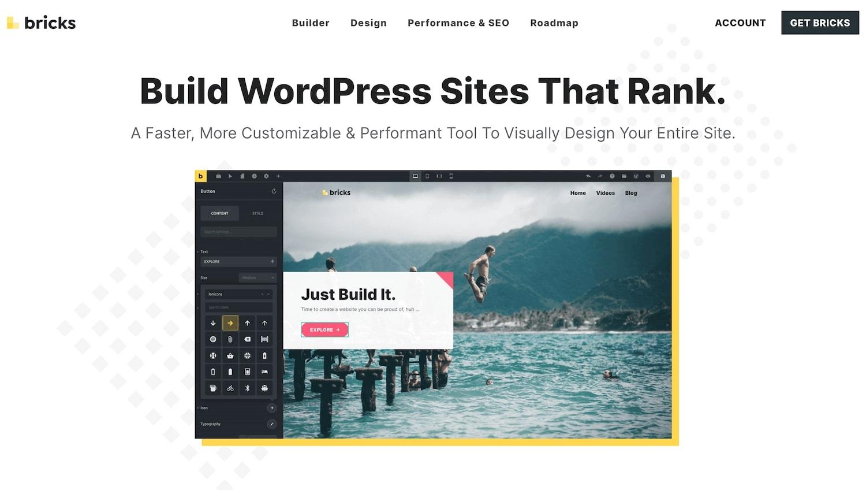 Bricks Builder for WordPress