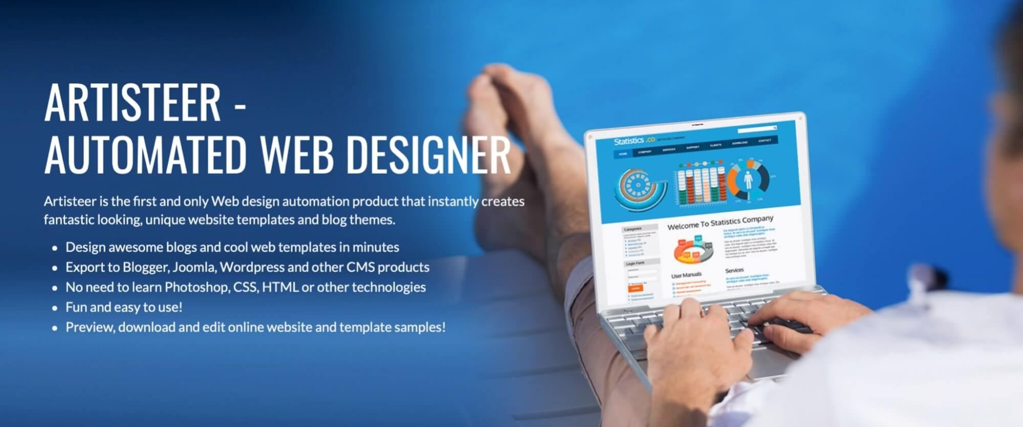 Artisteer Web Designer