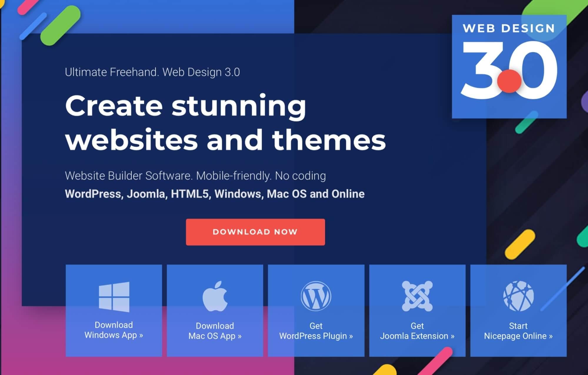 Nicepage Website Builder
