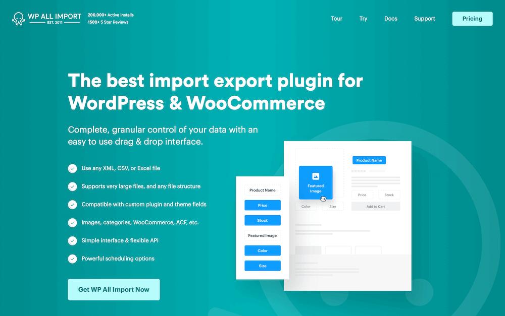 WP All Import Oxygen Builder Website Examples